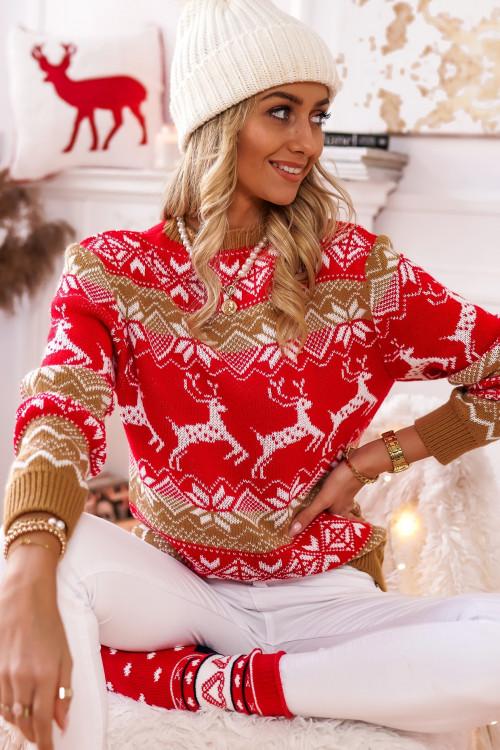 Sweter ze świątecznym motywem XMAS TIME