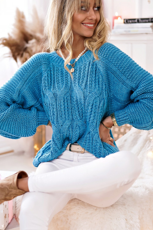 Sweter WARKOCZ WINTER MACHICO lifestyle BLUE JEANS