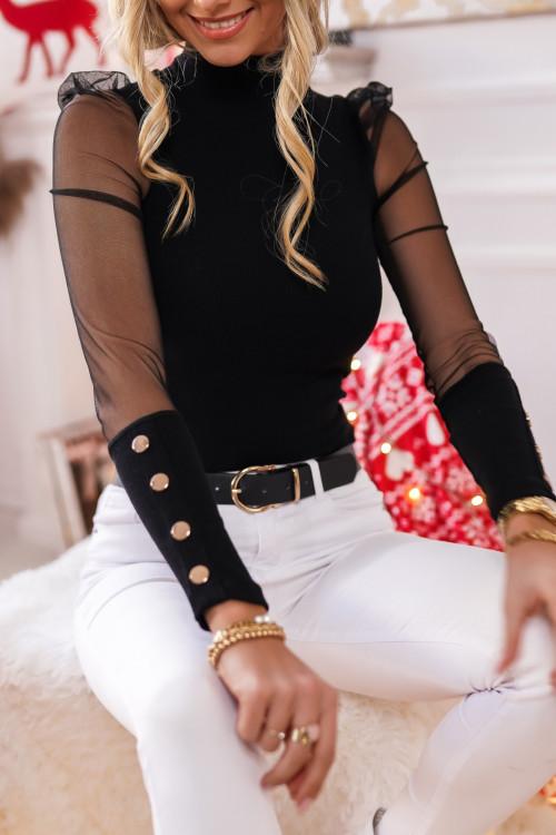 Bluzka MARANELLO Elegance BLACK