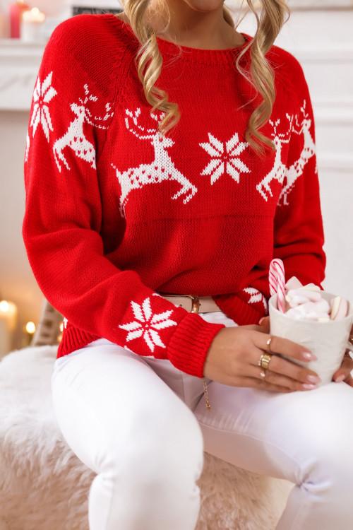 Sweter XMAS reindeers