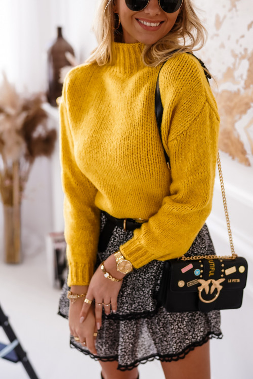 Sweter SPRING VERONA yellow