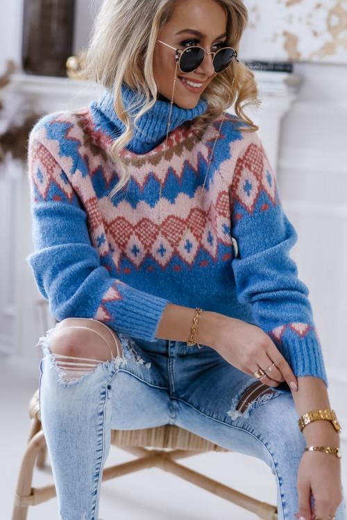 Sweter GOLF prespring azteck