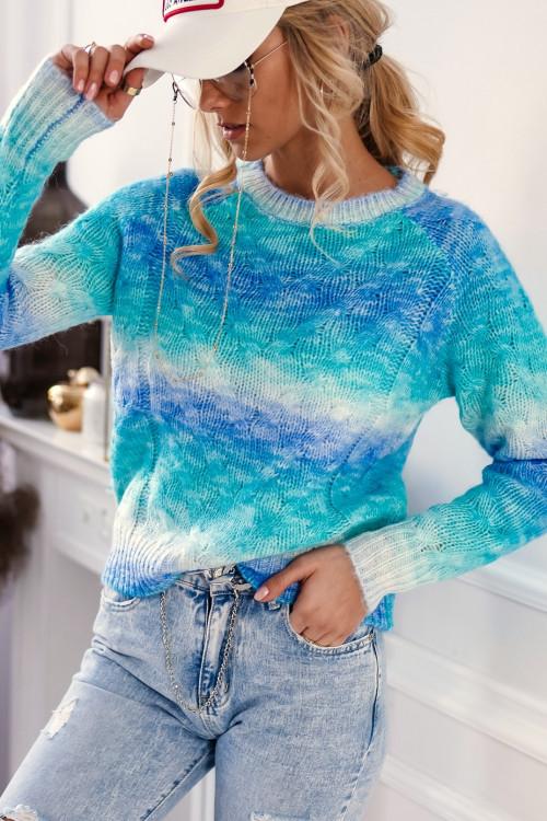 Sweter ALICANTE OMBRE look