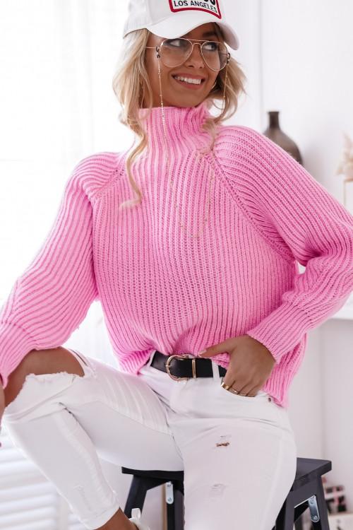Sweter COSTA BLACA POWDER PINK