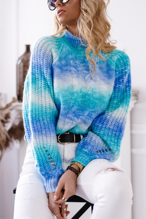 Sweter CANCUN SPRING ombre shadow