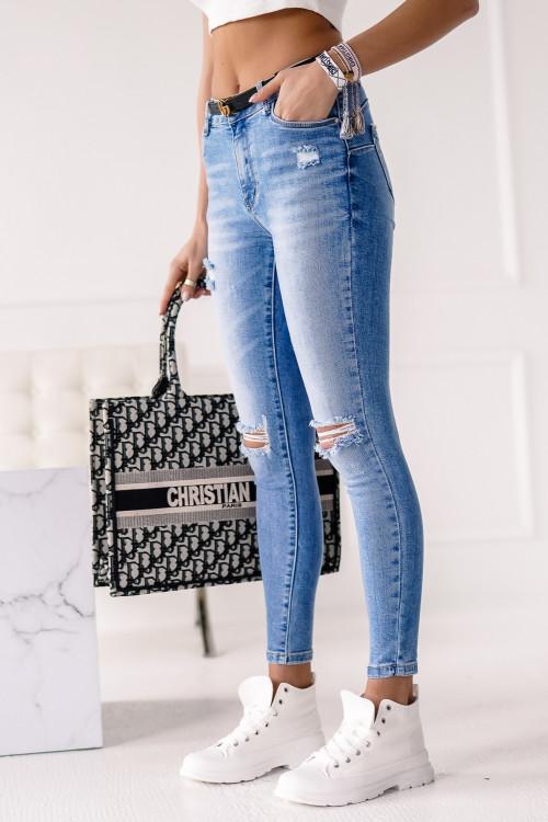 Spodnie CALPE SUMMER BLUE skinny