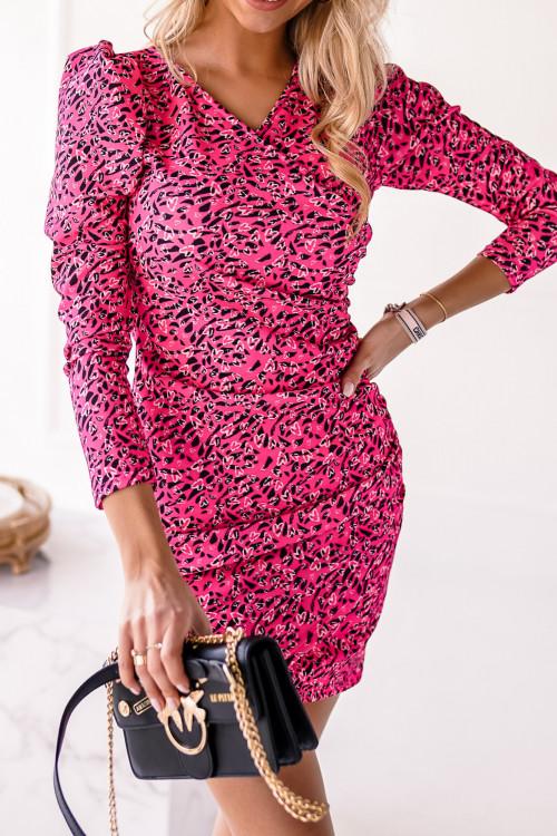 Sukienka w printy CLARITTY