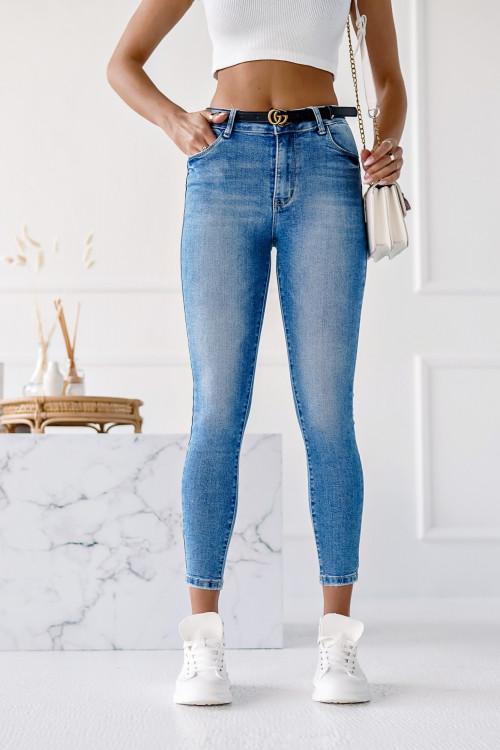 Spodnie CALPE CLASSIC SUMMER BLUE skinny