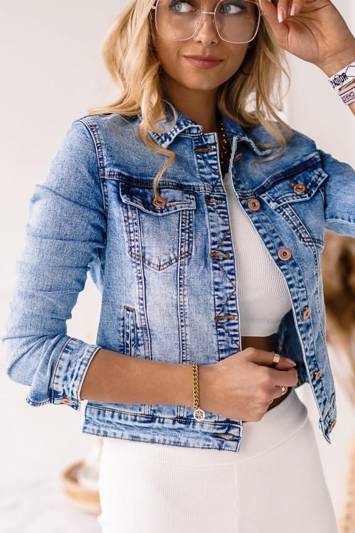 Katana jeansowa CALLVAS DENIM CLASSIC stretch