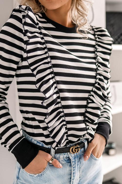 Bluza MOTYLEK MARINE black