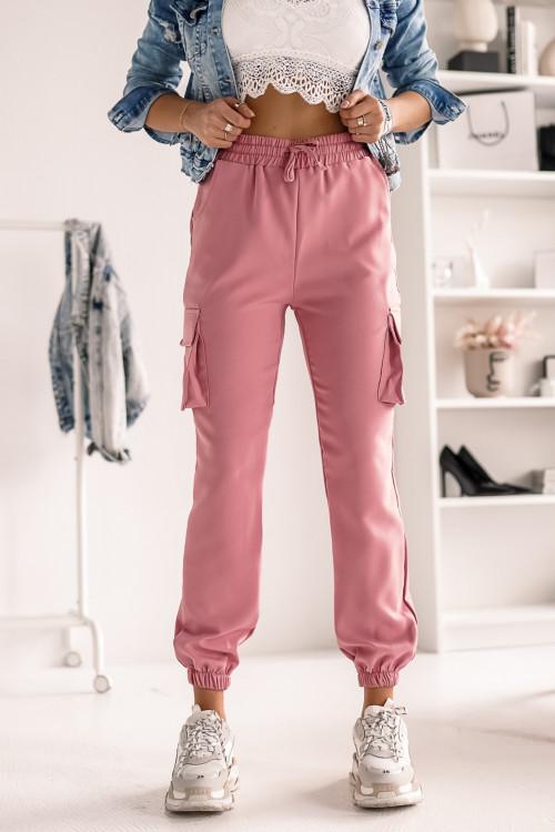 Spodnie LIFESTYLE STREET PUMPY pudrowe
