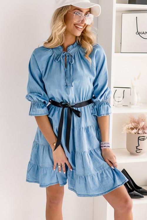 Sukienka JEANSOWA CELLIOS