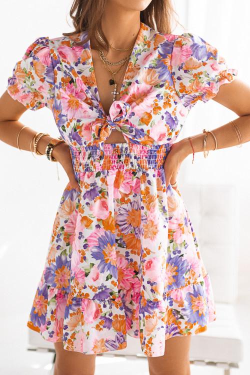 Sukienka REBELLA SPRING FLOWERS