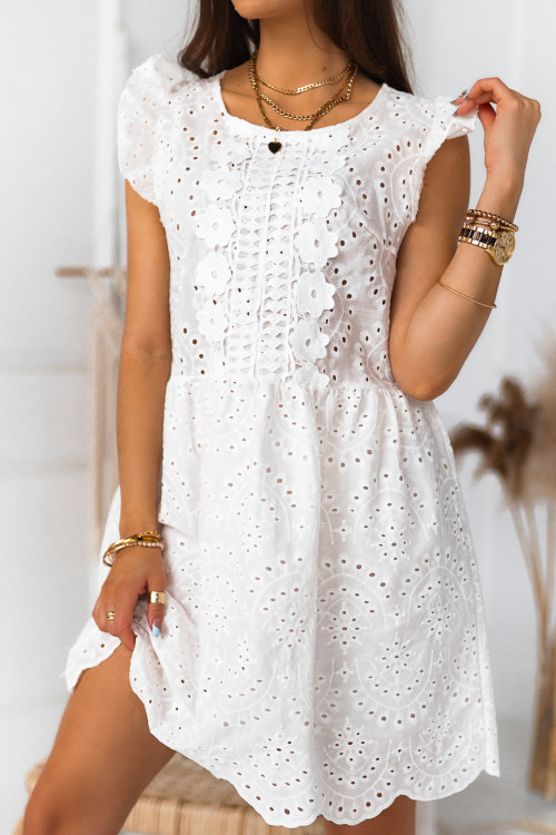Sukienka ELISSTON BOHO koronki