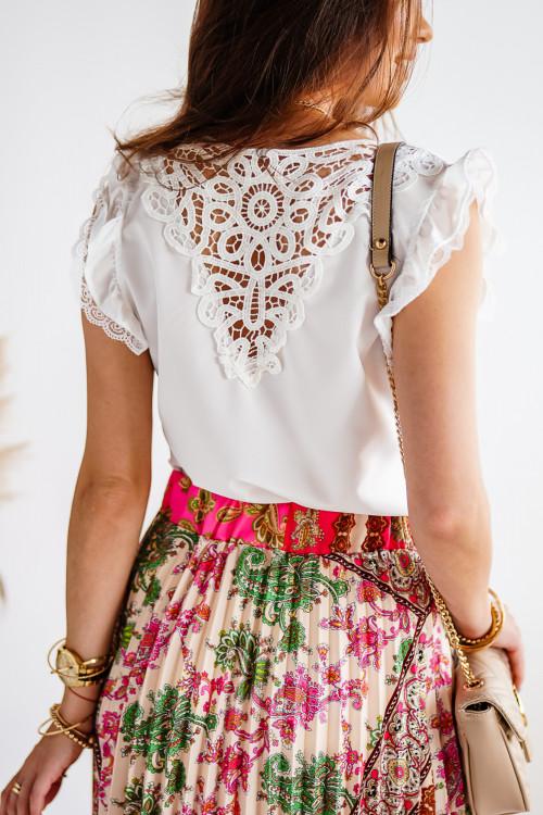 Bluzka GIOVANNO elegance white