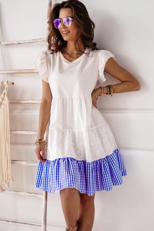 Sukienka PIAZALLE BOHO blue