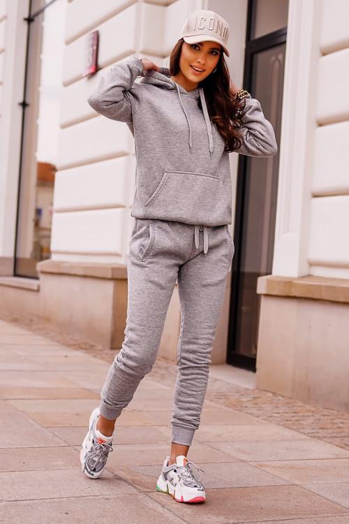 Dres BASIC CHIA lifestyle hoodie GRAY