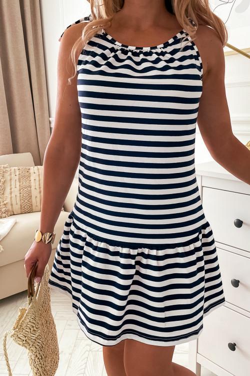 Sukienka NICEA SUMMER LOOK MARINE