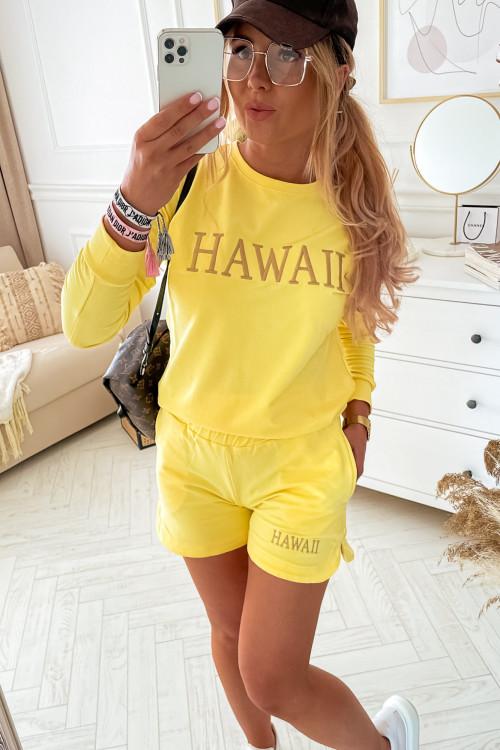 Komplet DRESOWY HAWAII YELLOW spring