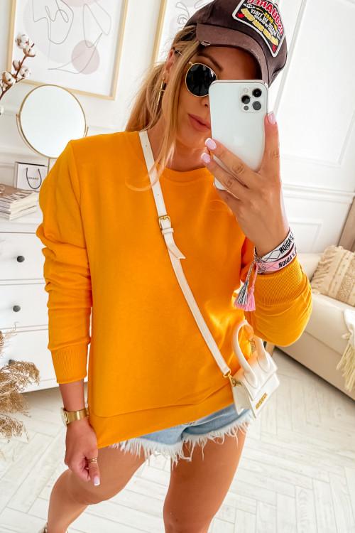 Bluza bawełniana BASIC CLASSIC summer collor