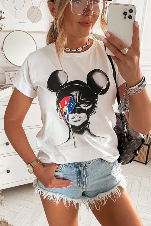 Tshirt STREET ART WOMAN