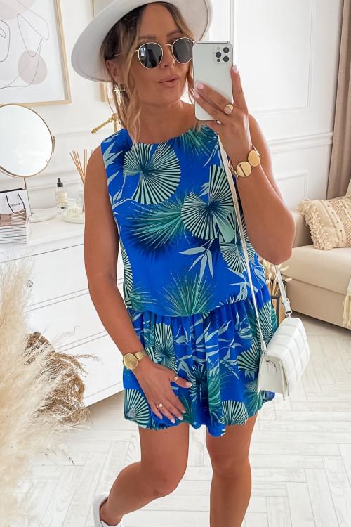 Sukienka SUMMER VIBES LOOKA blue
