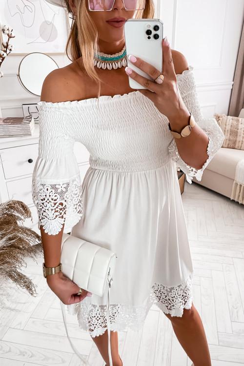 Sukienka ROSARIA BOHO Summer elegance KORONKA