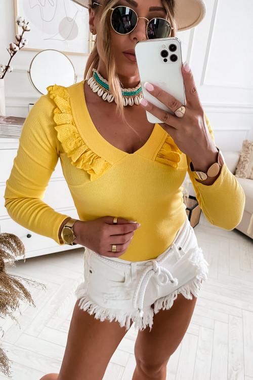 Bluzka MEDIOLAN SUMMER boho yellow