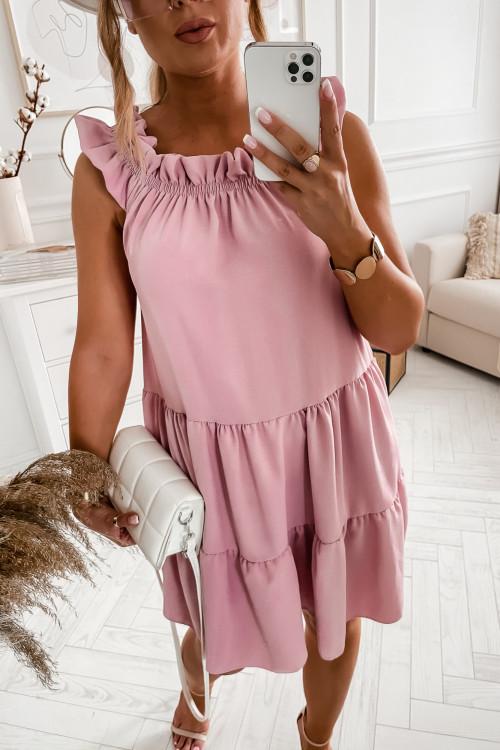 Sukienka SAMPLE ELEGANCE puder