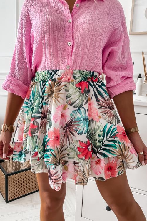 Spódnica CLARIS HOLIDAY print look
