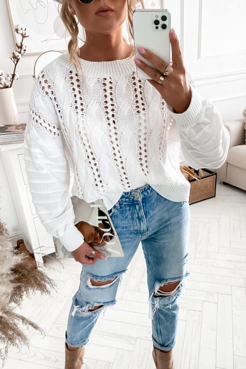 Sweter GUSSTO white