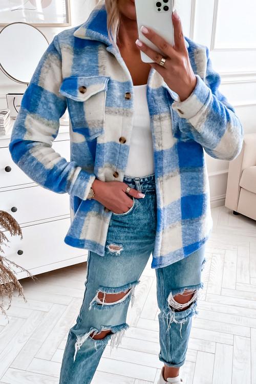 Koszula KATANA FLORIA LIFESTYLE blue
