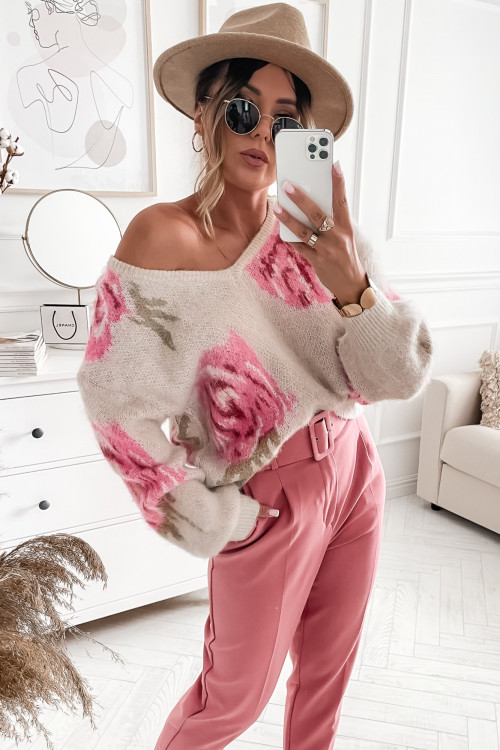 Sweter ROSE PINK Magnessia