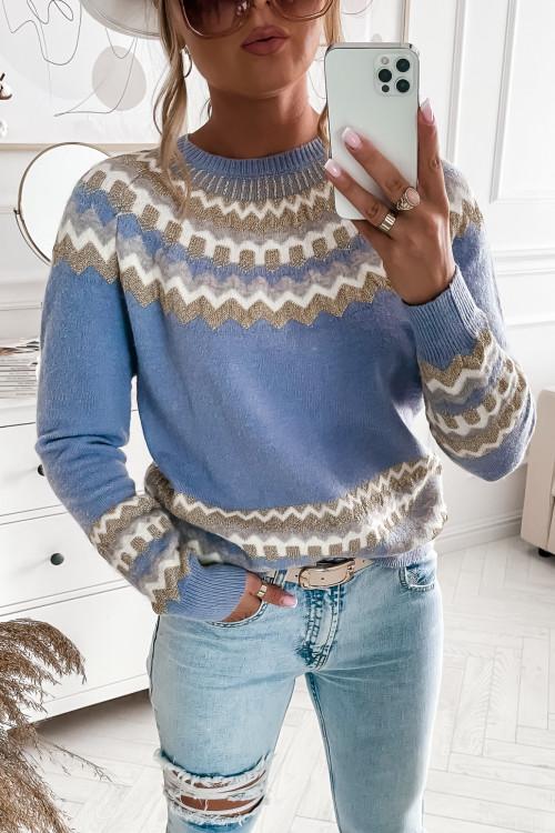 Sweter PIANNO PRETTY blue