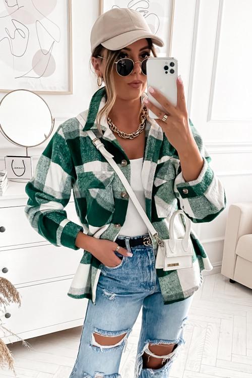 Koszula KATANA FLORIA TWO LIFESTYLE green