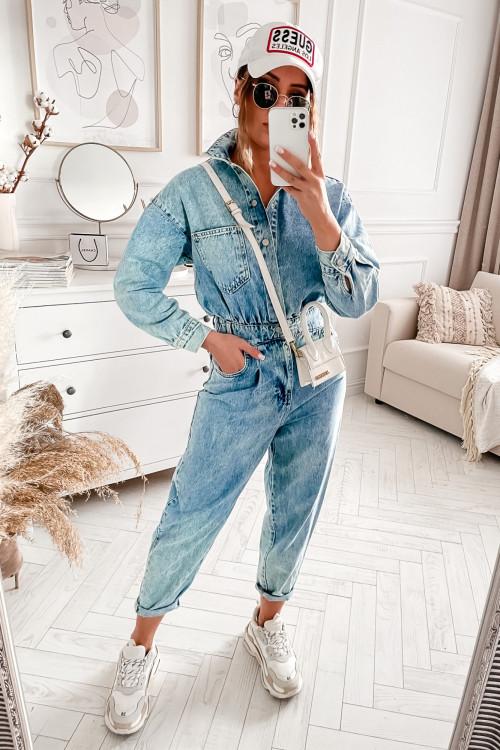 Kombinezon DIVERLY DENIM VINTAGE jeans