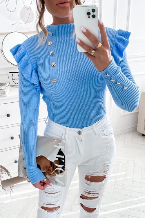 Sweterek GLOTTO and MOTTA ocean blue