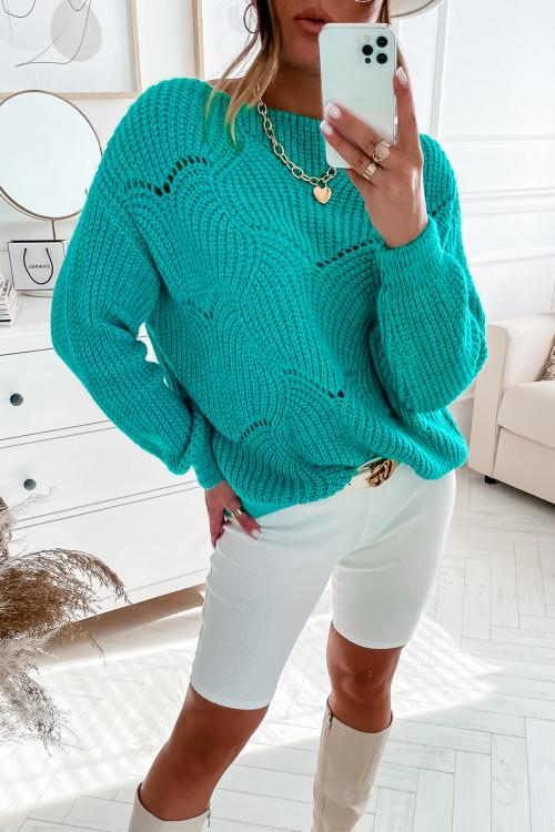 Sweter COLLINO PRETTY mint
