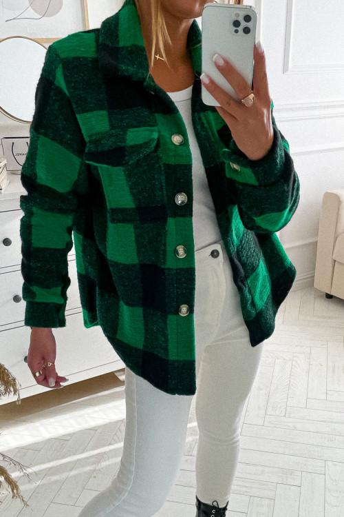 Koszula KATANA FLORIA LIFESTYLE green