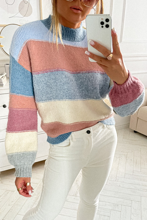 Sweter GOTTO W PASY casual style
