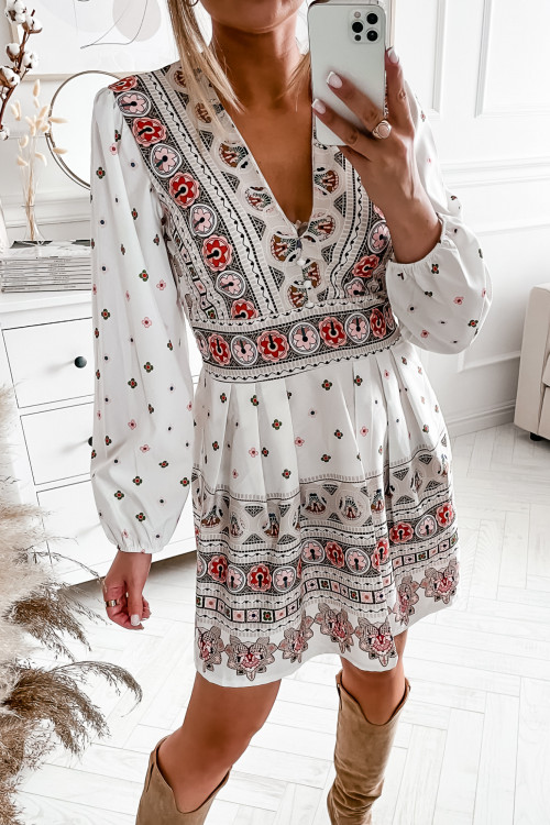 Sukienka MARDENNO AZTECK elegance